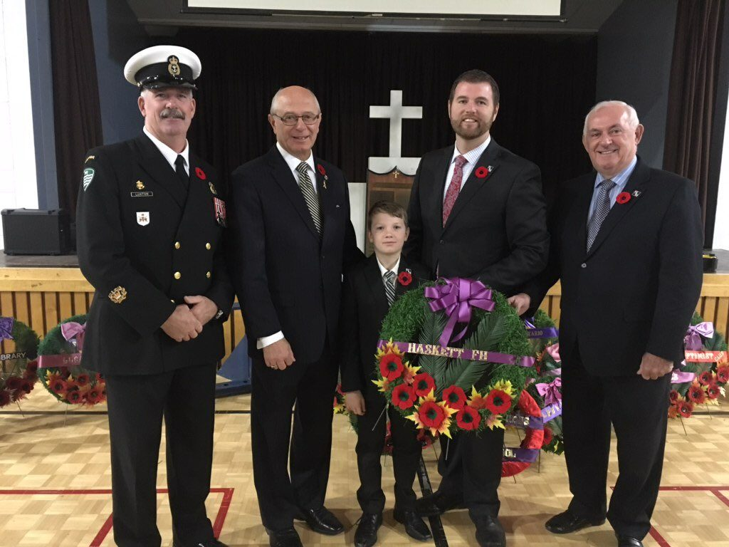 Lucan Remembrance Service